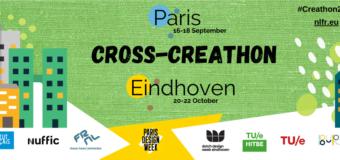 Call for Applications: Cross-Creathon Paris-Eindhoven 2021