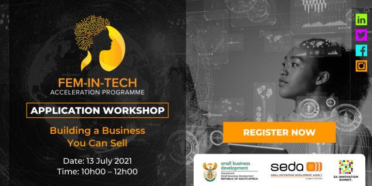 Fem-In-Tech Acceleration Program 2021 for South African Entrepreneurs
