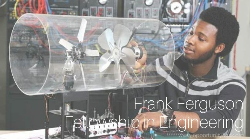 Frank Ferguson Fellowship in Engineering 2022/2023 for Zambians (Fully-funded)