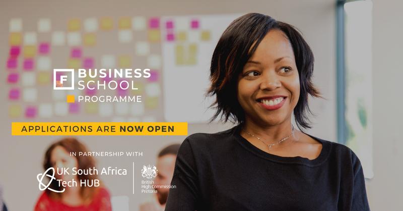 Future Females Business School Tech Program 2021 for South African Based Female Entrepreneurs