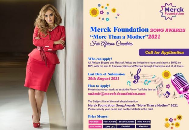 """Merck Foundation """"More Than a Mother"""" Africa Song Awards 2021 to Support Girl Education"""