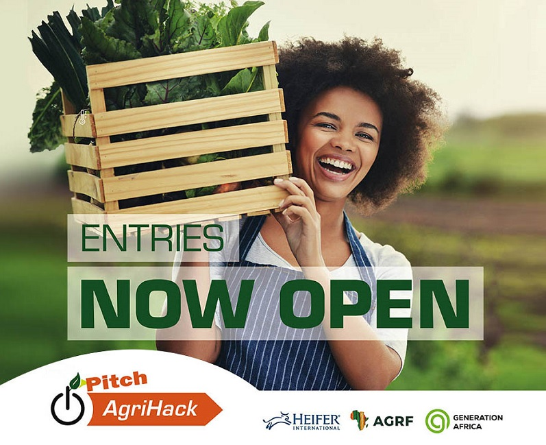Pitch AgriHack Competition 2021 for Young Innovators ($45,000 prize)