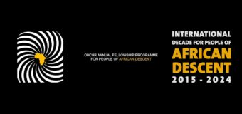 United Nations OHCHR Fellowship Program for People of African Descent 2021
