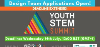 Apply to join the Youth STEM 2030 Summit Design Team