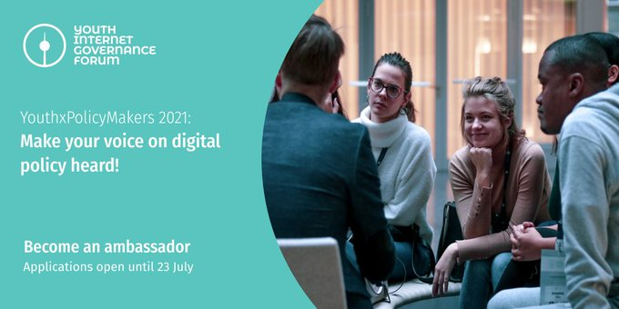 Call for Participation: YouthxPolicyMakers Program 2021
