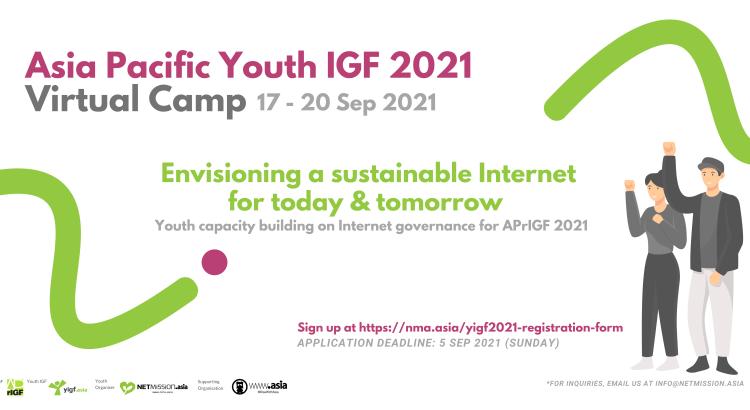 Asia Pacific Youth Internet Governance Forum (IGF) 2021 Virtual Camp
