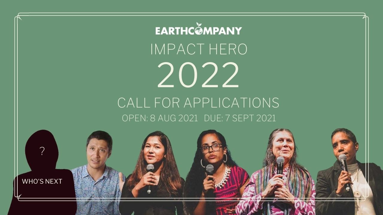 Earth Company Impact Hero 2022 for Changemakers in Asia-Pacific