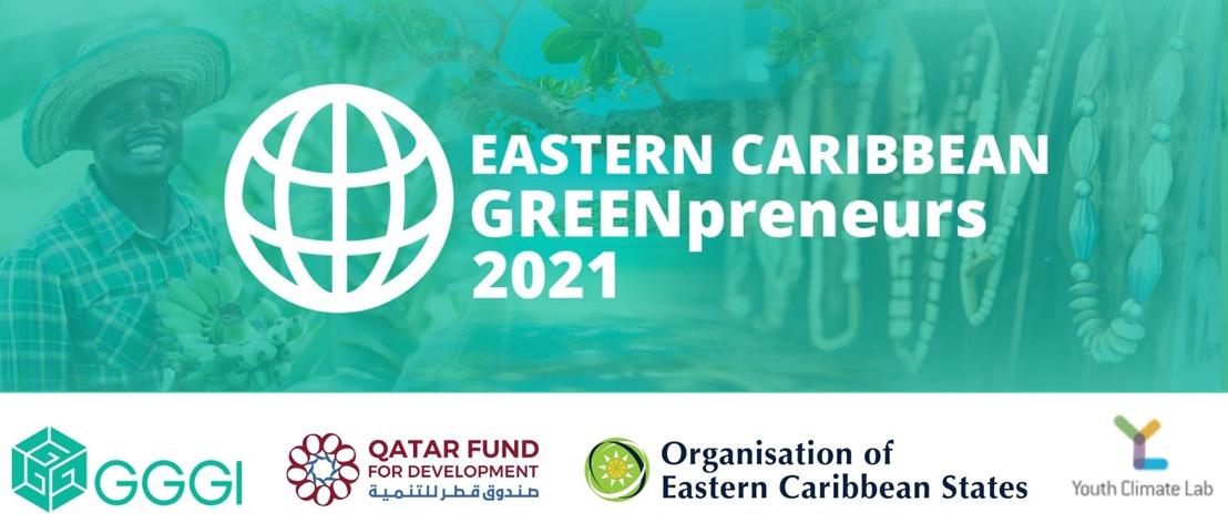 Eastern Caribbean Greenpreneurs Incubator Program 2021 (USD$10,000 grant)