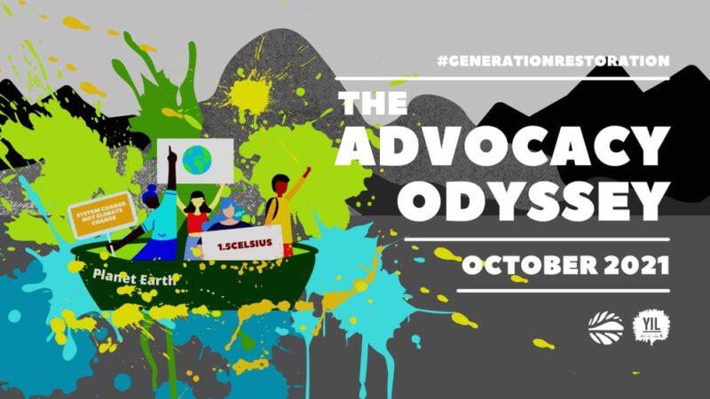 Apply to join #GenerationRestoration: The Advocacy Odyssey Program 2021