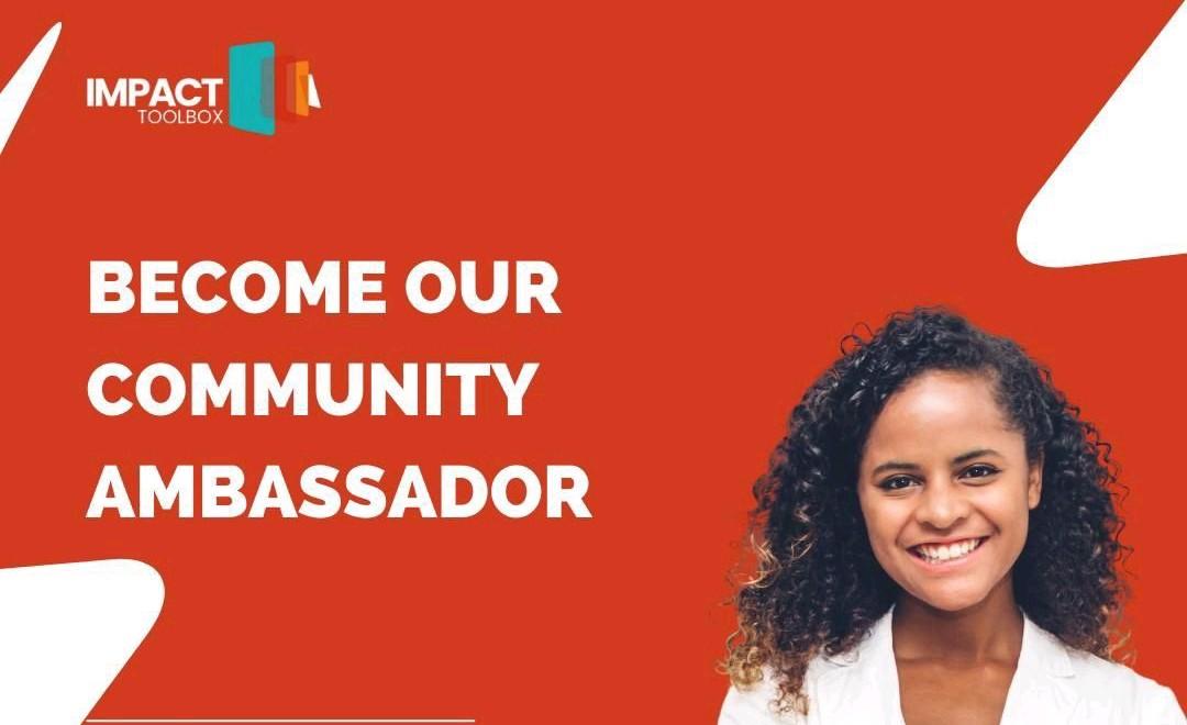Impact Toolbox – Call for Community Ambassadors 2021