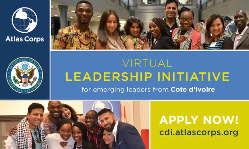Atlas Corps: Côte d'Ivoire Emerging Leaders Initiative 2022