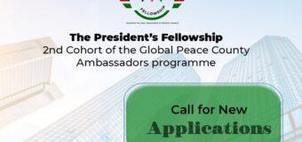 Global Peace Foundation Kenya President's Fellowship 2021