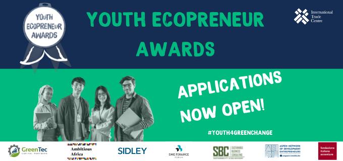 Ye! Community Youth Ecopreneur Awards 2021 ($15,000 USD prize)