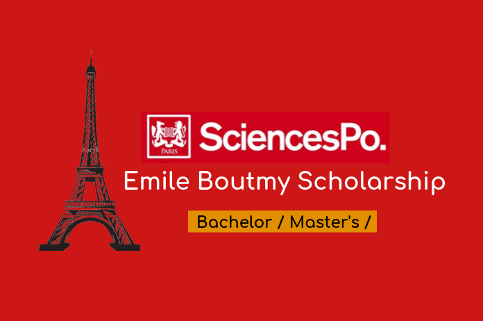 Émile Boutmy Scholarship 2022 for Undergraduate & Masters Study at Sciences Po