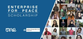 One Young World – Dutch Ministry of Foreign Affairs 'Enterprise for Peace' Scholarship to Attend OYW Summit 2022 (Fully-funded)